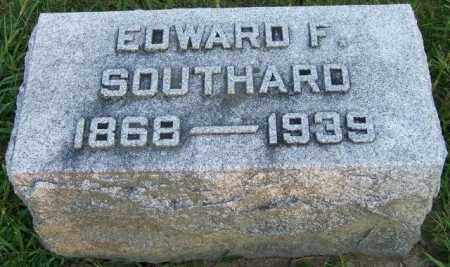 SOUTHARD, EDWARD F - Union County, Ohio | EDWARD F SOUTHARD - Ohio Gravestone Photos