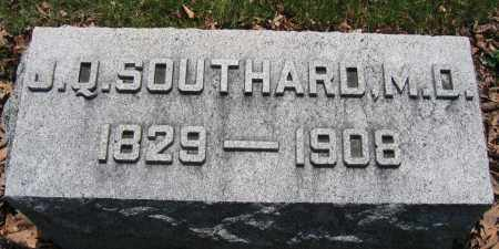 SOUTHARD, J.Q. - Union County, Ohio | J.Q. SOUTHARD - Ohio Gravestone Photos