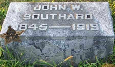 SOUTHARD, JOHN W - Union County, Ohio | JOHN W SOUTHARD - Ohio Gravestone Photos