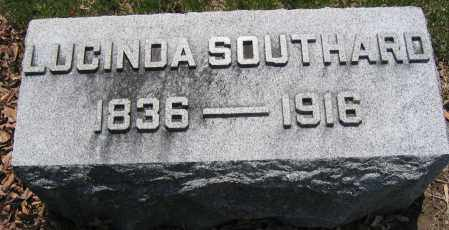 SOUTHARD, LUCINDA - Union County, Ohio | LUCINDA SOUTHARD - Ohio Gravestone Photos
