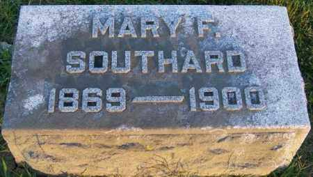 SOUTHARD, MARY F - Union County, Ohio | MARY F SOUTHARD - Ohio Gravestone Photos