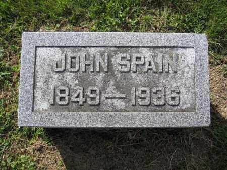 SPAIN, JOHN - Union County, Ohio | JOHN SPAIN - Ohio Gravestone Photos