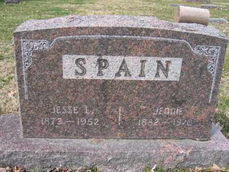 SPAIN, JESSE L. - Union County, Ohio | JESSE L. SPAIN - Ohio Gravestone Photos