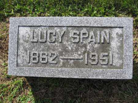 SPAIN, LUCY - Union County, Ohio | LUCY SPAIN - Ohio Gravestone Photos