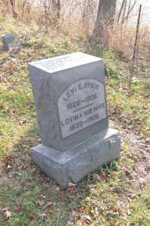 SPAIN, LOVINA - Union County, Ohio | LOVINA SPAIN - Ohio Gravestone Photos