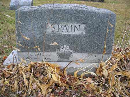 SPAIN, EVA - Union County, Ohio | EVA SPAIN - Ohio Gravestone Photos