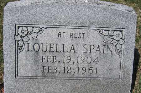 SPAIN, LOUELLA A. - Union County, Ohio | LOUELLA A. SPAIN - Ohio Gravestone Photos