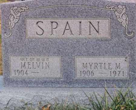 SPAIN, MELVIN - Union County, Ohio | MELVIN SPAIN - Ohio Gravestone Photos