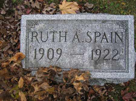 SPAIN, RUTH A. - Union County, Ohio | RUTH A. SPAIN - Ohio Gravestone Photos