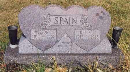 SPAIN, WILSON H. - Union County, Ohio | WILSON H. SPAIN - Ohio Gravestone Photos