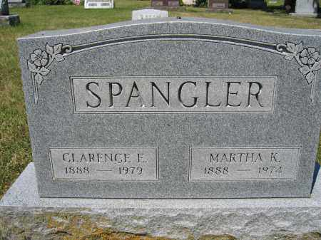 SPANGLER, MARTHA K. - Union County, Ohio | MARTHA K. SPANGLER - Ohio Gravestone Photos