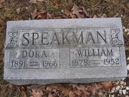 SPEAKMAN, DORA - Union County, Ohio | DORA SPEAKMAN - Ohio Gravestone Photos