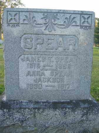 SPEAR, JAMES T. - Union County, Ohio | JAMES T. SPEAR - Ohio Gravestone Photos