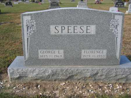 SPEESE, FLORENCE - Union County, Ohio | FLORENCE SPEESE - Ohio Gravestone Photos