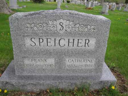 SPEICHER, CATHERINE - Union County, Ohio | CATHERINE SPEICHER - Ohio Gravestone Photos
