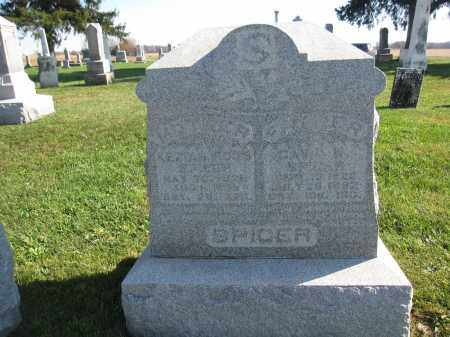 SPICER, DAVID - Union County, Ohio | DAVID SPICER - Ohio Gravestone Photos