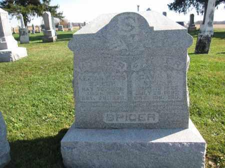 SPICER, KEZIAH ROSS - Union County, Ohio | KEZIAH ROSS SPICER - Ohio Gravestone Photos