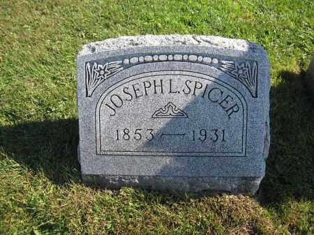 SPICER, JOSEPH L. - Union County, Ohio | JOSEPH L. SPICER - Ohio Gravestone Photos