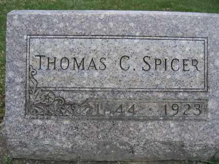 SPICER, THOMAS C - Union County, Ohio   THOMAS C SPICER - Ohio Gravestone Photos