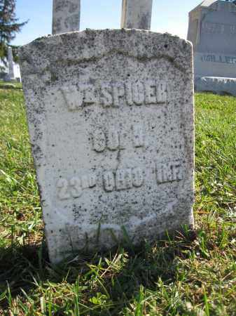 SPICER, WILLIAM - Union County, Ohio | WILLIAM SPICER - Ohio Gravestone Photos