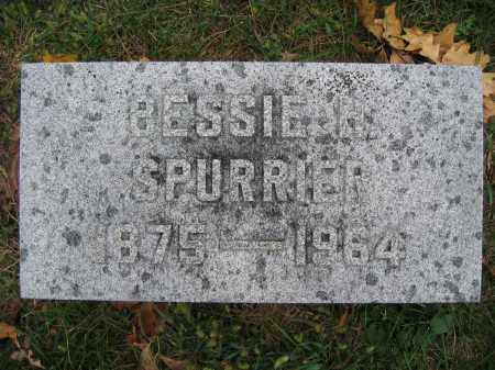 SPURRIER, BESSIE H. - Union County, Ohio | BESSIE H. SPURRIER - Ohio Gravestone Photos