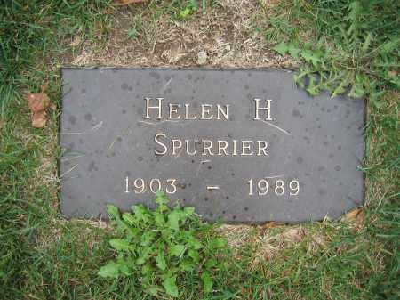 SPURRIER, HELEN H. - Union County, Ohio | HELEN H. SPURRIER - Ohio Gravestone Photos