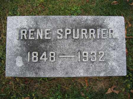 SPURRIER, IRENE - Union County, Ohio | IRENE SPURRIER - Ohio Gravestone Photos