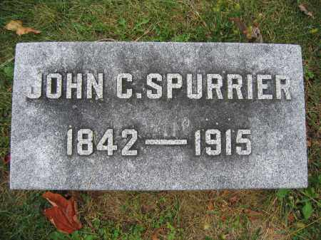 SPURRIER, JOHN C. - Union County, Ohio | JOHN C. SPURRIER - Ohio Gravestone Photos