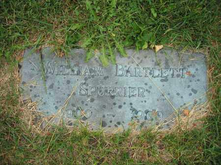 SPURRIER, WILLIAM BARTLETT - Union County, Ohio | WILLIAM BARTLETT SPURRIER - Ohio Gravestone Photos