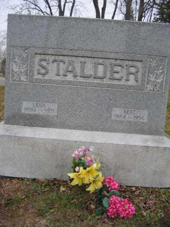 STALDER, BERT - Union County, Ohio | BERT STALDER - Ohio Gravestone Photos