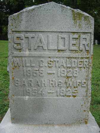 STALDER, WILL C. - Union County, Ohio | WILL C. STALDER - Ohio Gravestone Photos