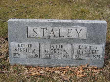 STALEY, MINNIE M. - Union County, Ohio | MINNIE M. STALEY - Ohio Gravestone Photos