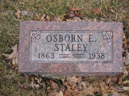 STALEY, OSBORN E. - Union County, Ohio | OSBORN E. STALEY - Ohio Gravestone Photos