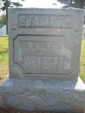 STAMETS, H.S. - Union County, Ohio | H.S. STAMETS - Ohio Gravestone Photos