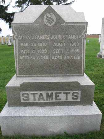STAMATES, ALICE COONS - Union County, Ohio | ALICE COONS STAMATES - Ohio Gravestone Photos