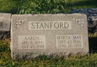 STANFORD, AARON - Union County, Ohio | AARON STANFORD - Ohio Gravestone Photos