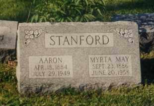 STANFORD, MYRTA MAY DAVIS - Union County, Ohio | MYRTA MAY DAVIS STANFORD - Ohio Gravestone Photos