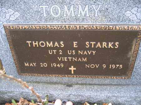 STARKS, THOMAS E. - Union County, Ohio | THOMAS E. STARKS - Ohio Gravestone Photos