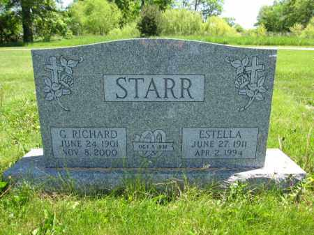 STARR, G. RICHARD - Union County, Ohio | G. RICHARD STARR - Ohio Gravestone Photos