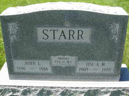 STARR, IDA A.M. - Union County, Ohio | IDA A.M. STARR - Ohio Gravestone Photos