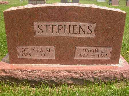 STEPHENS, DAVID L. - Union County, Ohio | DAVID L. STEPHENS - Ohio Gravestone Photos