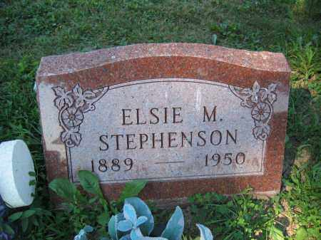 STEPHENSON, ELSIE M. - Union County, Ohio | ELSIE M. STEPHENSON - Ohio Gravestone Photos