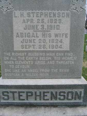 STEPHENSON, ABIGAL - Union County, Ohio | ABIGAL STEPHENSON - Ohio Gravestone Photos