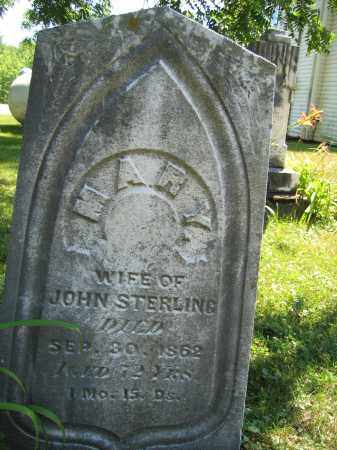 STERLING, MARY - Union County, Ohio | MARY STERLING - Ohio Gravestone Photos