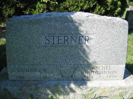 STERNER, RICHARD W. - Union County, Ohio | RICHARD W. STERNER - Ohio Gravestone Photos