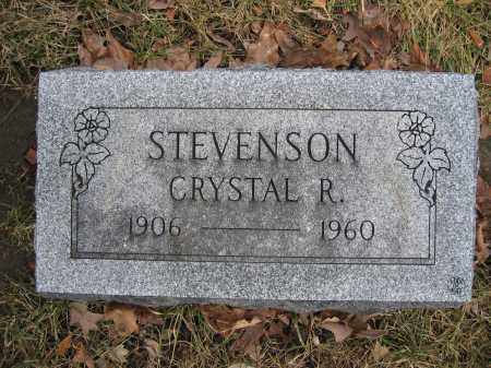 STEVENSON, CRYSTAL R. - Union County, Ohio | CRYSTAL R. STEVENSON - Ohio Gravestone Photos