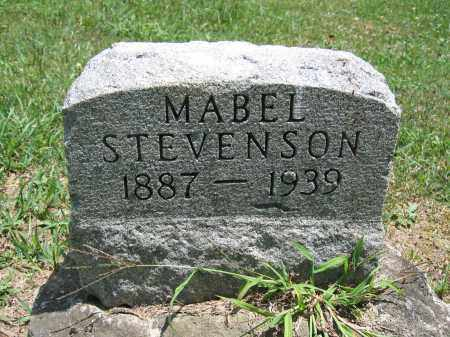 STEVENSON, MABEL - Union County, Ohio | MABEL STEVENSON - Ohio Gravestone Photos