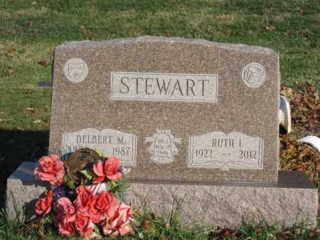 STEWART, DELBERT M. - Union County, Ohio | DELBERT M. STEWART - Ohio Gravestone Photos