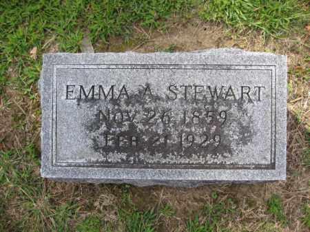 STEWART, EMMA A. - Union County, Ohio | EMMA A. STEWART - Ohio Gravestone Photos