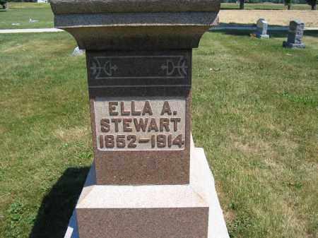 STEWART, ELLA A. - Union County, Ohio | ELLA A. STEWART - Ohio Gravestone Photos